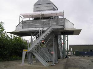 Nastro trasportatore per rifiuti ZC2114 con nastro reversibile