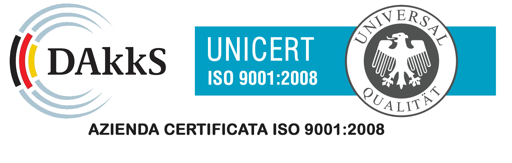ISO 9001:2008 certification logo